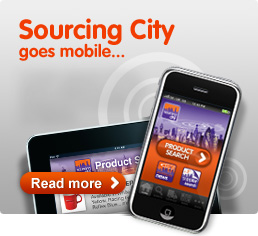 Sourcing City goes mobile...