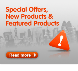 Special Offers, New Products & Featured Products